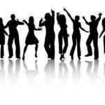 Silhouette-tanzendeMenschen